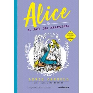 Livro - Alice no País das Maravilhas - Carroll - Autêntica