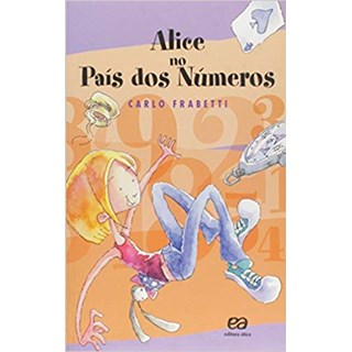 Livro - Alice no País dos Números - Fabretti