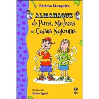 Livro - Almanaque de Puns, Melecas e Coisas Nojentas - Mesquita - Panda Books