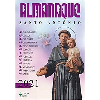 Livro - Almanaque Santo Antônio - Pasini - Vozes