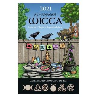 Livro - Almanaque Wicca 2021 - Editora Pensamento 1º edição