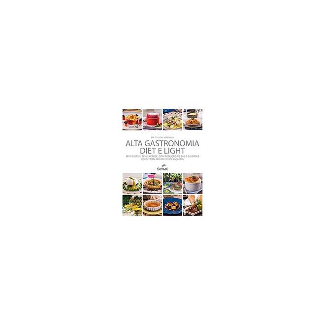 Livro - Alta Gastronomia Diet Light - Baccarin