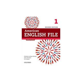Livro - American English File 1 - Student's Book - 2 ed - Oxford