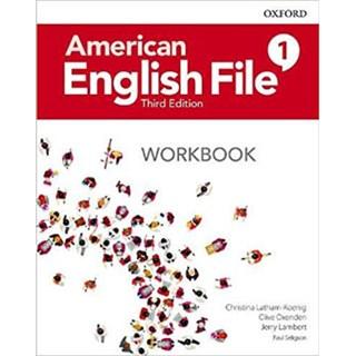 Livro - American English File 1 - Workbook - 3 ed - Oxford