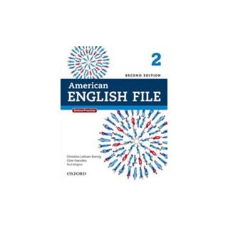 Livro - American English File 2 - Student's Book - 2 ed - Oxford