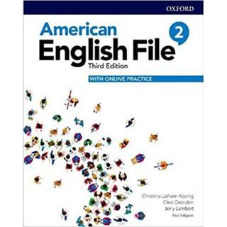Livro - American English File 2 - Student's Book Pack - 3 ed - Oxford