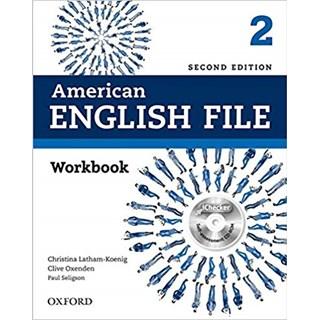 Livro - American English File 2 - Workbook - 2 ed - Oxford