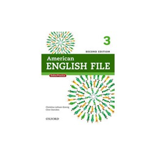 Livro - American English File 3 - Student's Book - 2 ed - Oxford
