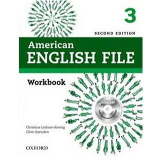 Livro - American English File 3 - Workbook - 2 ed - Oxford