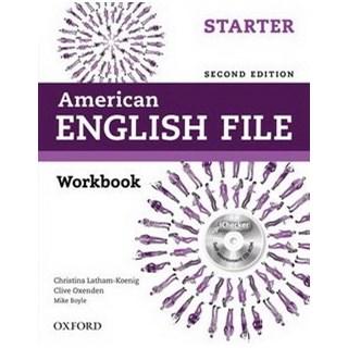 Livro - American English File Starter - Workbook - 2 ed - Oxford