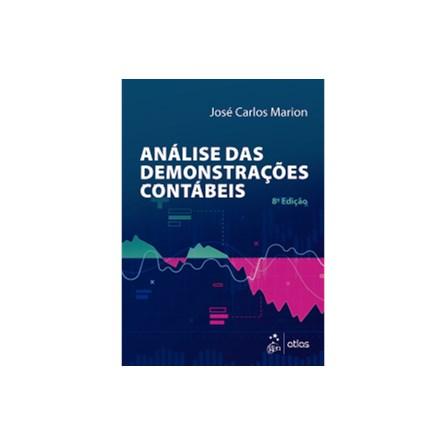 Livro - Análise das Demonstrações Contábeis: Contabilidade Empresarial - Marion