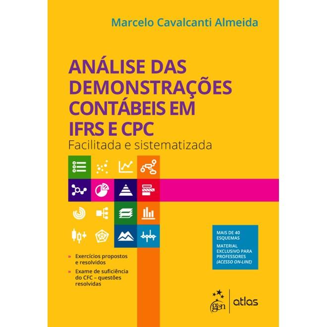 Livro - Análise das Demonstrações Contábeis em IFRS e CPC - Almeida
