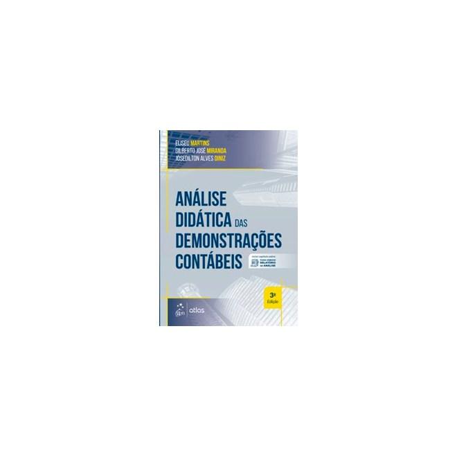 Livro - Análise Didática das Demonstrações Contábeis - Martins - Atlas