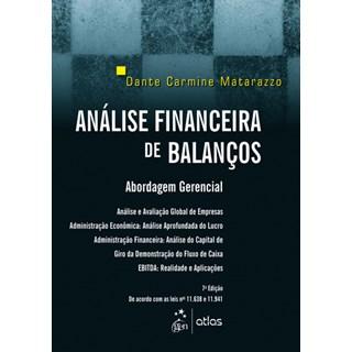 Livro - Análise Financeira de Balanços: Abordagem Básica e Gerencial - Matarazzo