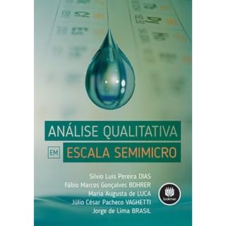 Livro - Análise Qualitativa em Escala Semimicro - Dias