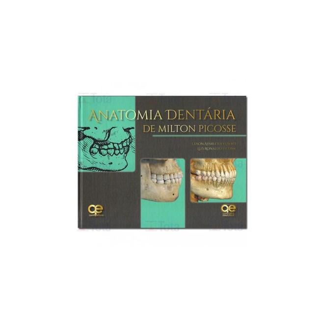 Livro - Anatomia Dentária de Milton Picosse - Liberti - Santos