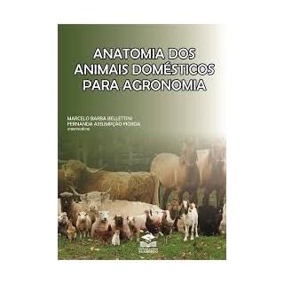 Livro - Anatomia dos Animais Domésticos para Agronomia - Bellettini