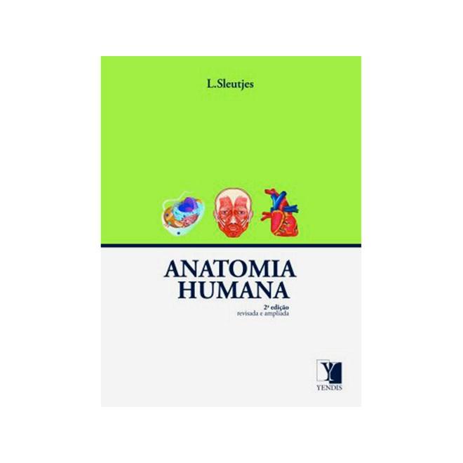 Livro - Anatomia Humana - Sleutjes ***