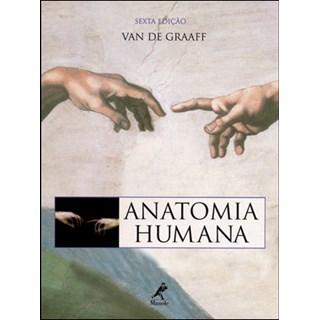 Livro - Anatomia Humana - Van de Graaff - Com CD-ROM