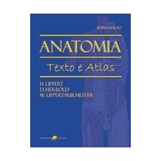 Livro - Anatomia - Texto e Atlas - Lippert