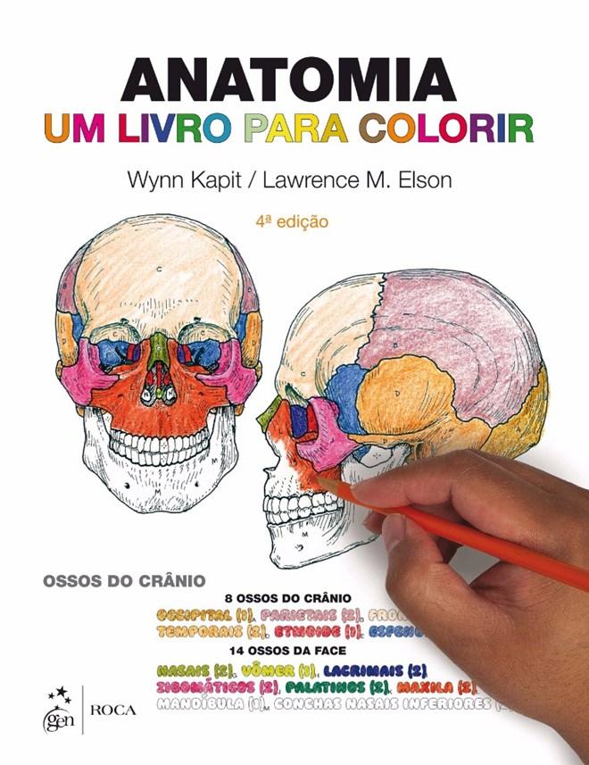 Livro - Anatomia - Um Livro para Colorir - Kapit