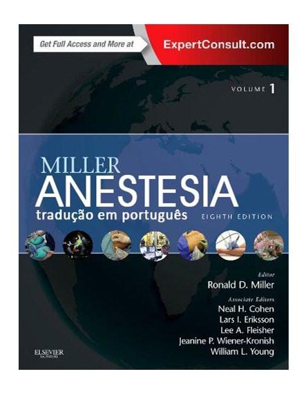 Livro - Anestesia 2 Vols - Miller