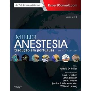 Livro - Anestesia 2 Volumes - Miller