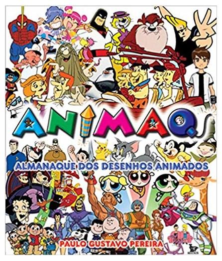 Livro - Animaq - Almanaque dos Desenhos Animados - Pereira