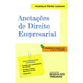 Livro Anotações de Direito Empresarial - Iacomini - Revista dos Tribunais