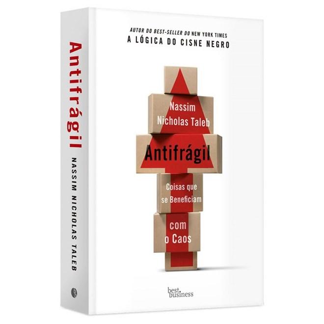 Livro - Antifrágil - Taleb - Record