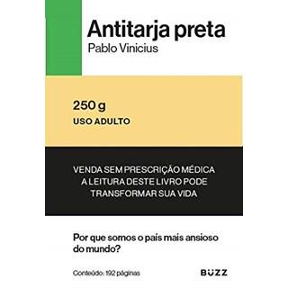 Livro Antitarja Preta - Pablo - Buzz