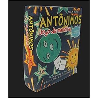 Livro - Antônimos - Jogo da Memória - Tadeu - Baralho