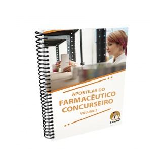 Livro - Apostilas do Farmacêutico Concurseiro: Volume 2 - Ribeiro - Sanar