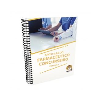 Livro - Apostilas do Farmacêutico Concurseiro: Volume 3 - Cardoso - Sanar