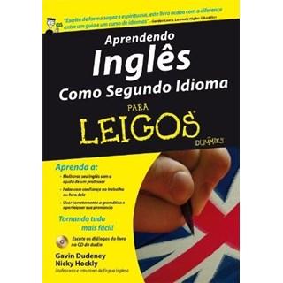 livro - Aprendendo Ingles Como Segundo Idioma - Para Leigos - Dudeney