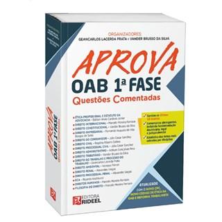 Livro - Aprova OAB 1ª fase – Questões Comentadas - Prata