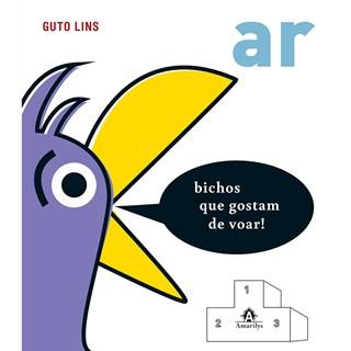 Livro - Ar: Bichos que Gostam de Voar - Lins