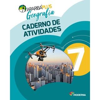 Livro - Araribá Plus Geografia - 7 Ano - Caderno de Atividades - Moderna