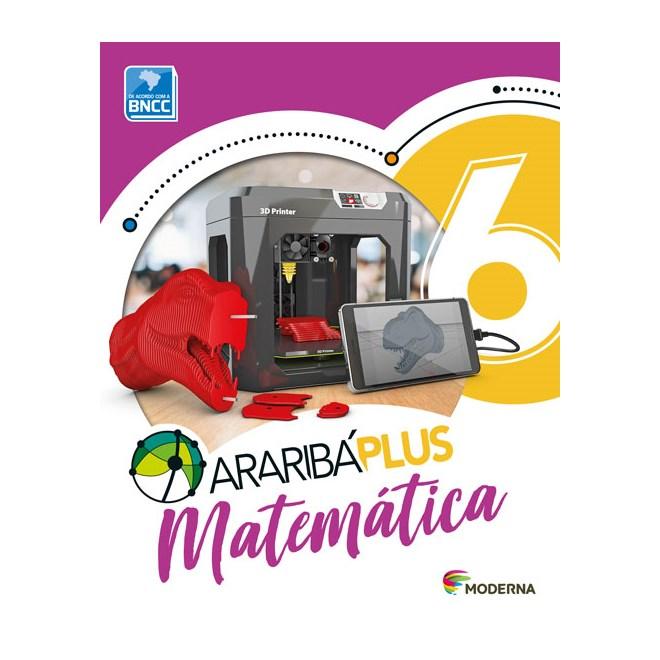 Livro - Araribá Plus Matemática - 6 Ano - Moderna