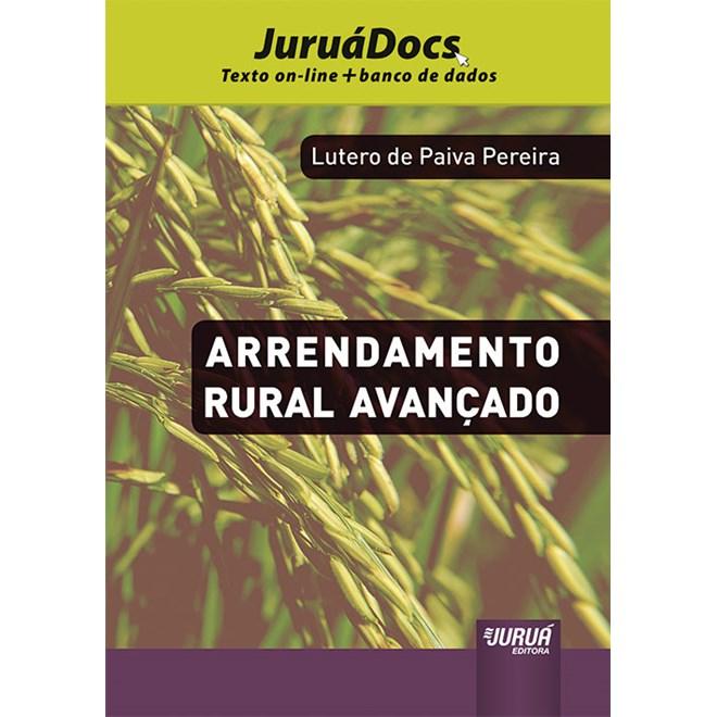Livro - Arrendamento Rural Avançado - Pereira - Juruá
