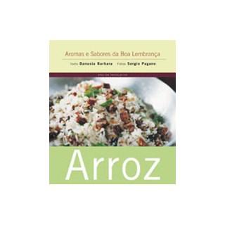 Livro - Arroz - Coleção Aromas e Sabores da Boa Lembrança - Barbara