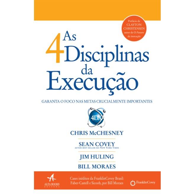 Livro - As 4 Disciplinas da Execução - Covey