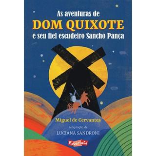 Livro As aventuras de Dom Quixote e seu fiel escudeiro Sancho Pança - Cervantes - Brinque Book