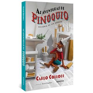 Livro As Aventuras de Pinóquio - Collodi - Autêntica