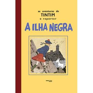 Livro - As aventuras de Tintim – A ilha negra - Hergé - Globo