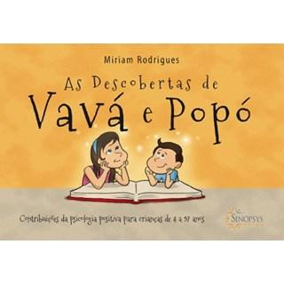 Livro - As Descobertas de Vavá e Popó - Rodrigues