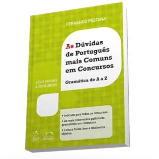 Livro - As Dúvidas De Português Mais Comuns Em Concursos - Pestana