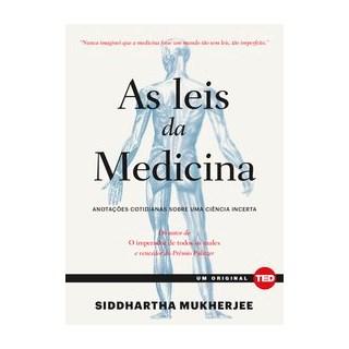 Livro - As leis da medicina - Mukherjee 1º edição