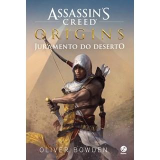 Livro Assassins Creed Origins - Juramento do  Deserto - Bowden