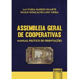 Livro - Assembleia Geral de Cooperativas - Duarte - Juruá